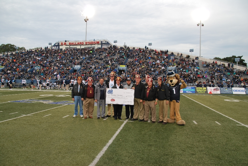 Annual Oyster Bowl Football Game Khedive Shriners