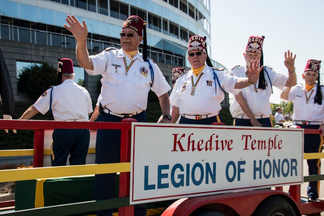 Norfolk Nato Parade Khedive Shriners